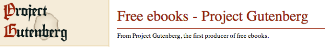 "Project Gutenberg (PG) is a volunteer effort to digitize and archive cultural works, to ""encourage the creation and distribution of eBooks"".[2] It was founded in 1971 by Michael S. Hart and is the oldest digital library.[3] Most of the items in its collection are the full texts of public domain books. The project tries to make these as free as possible, in long-lasting, open formats that can be used on almost any computer. As of March 2013, Project Gutenberg claimed over 42,000 items in its collection. -Wikipedia"